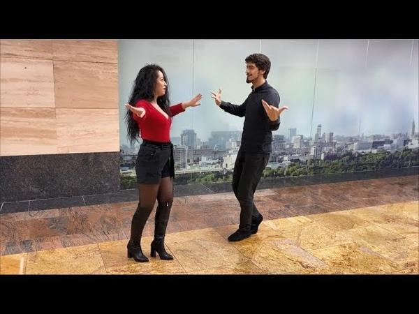 Девушка Танцует Нежно С Парнем В Москве 2019 Чеченская Лезгинка С Красавицей Из Узбекистана ALISHKA