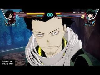 My Hero One's Justice: Shota Aizawa vs. Heroes (Arcade Mode)