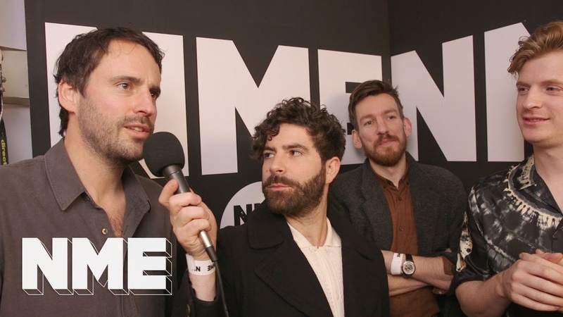 Foals discuss the importance of gender-balanced festival lineups at the NME Awards 2020