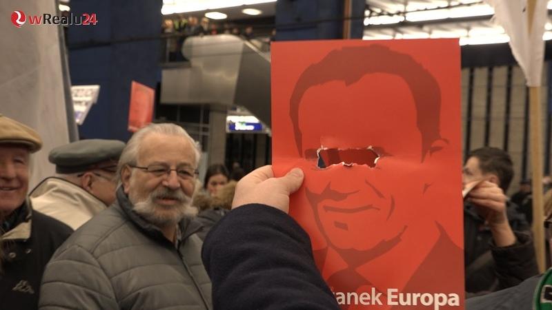 Obelgi, wrzaski, agresja - czyli Polacy skaczą sobie do gardeł a Tusk się cieszy! Polska podzielona!