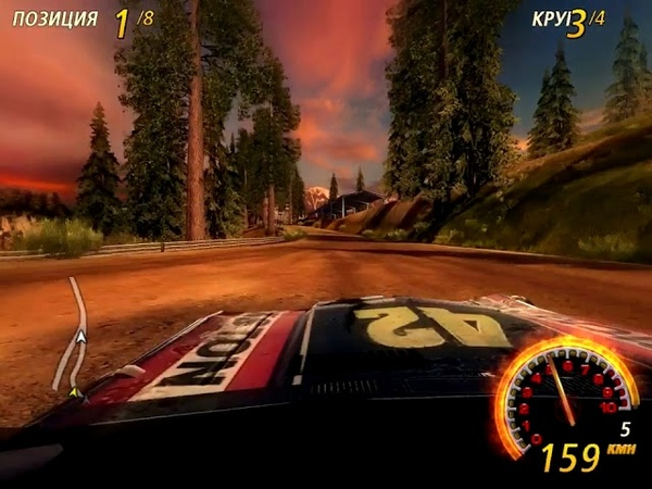 FlatOut 2. Most Wanted - Splitter - Reversed Timberlands 3