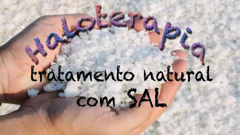 Haloterapia cura natural pelo SAL