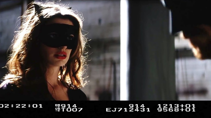 Screentest Anne Hathaway (Catwoman), Tom Hardy (Bane) The Dark Knight Rises