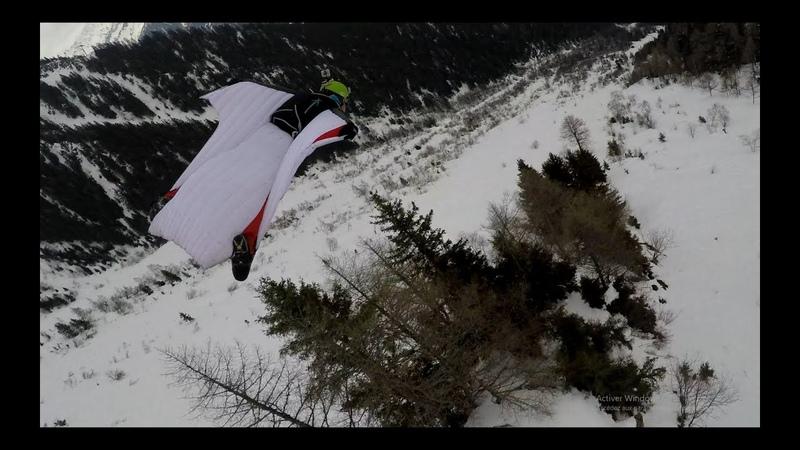 Brevent Wingsuit BASE Jump