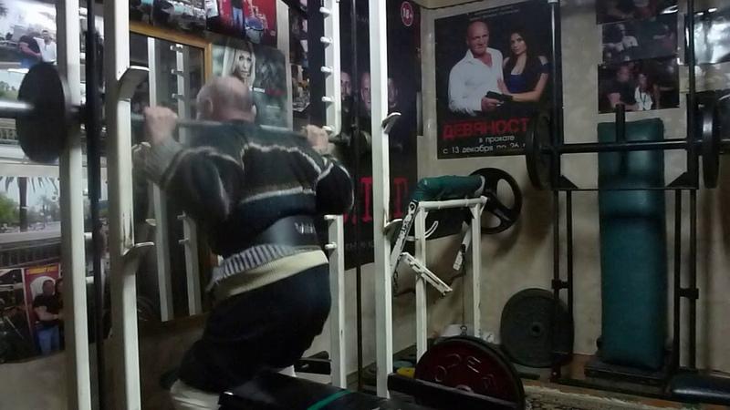 30 ноября Выполнил полуприседы с весом 40 кг на 30 раз