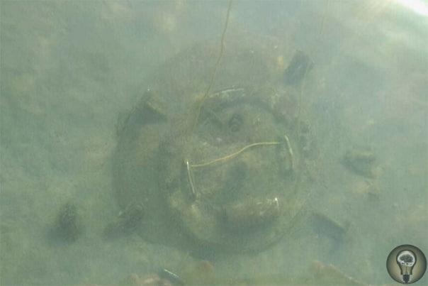 Таинственный люк на дне моря под Новороссийском