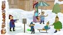 Смешные короткие мультики для детей Человечки - Мороженое. Сборник мультфильмов
