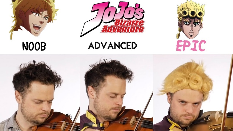5 Levels of Giorno's Theme Noob to Epic