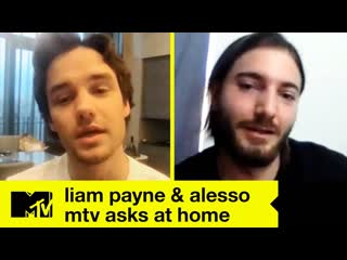 TEASER: Liam Payne & Alesso Answer Fan Questions And Tease 1D Reunion | MTV Asks At Home [RUS SUB]
