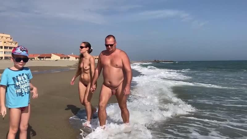 Naturisme en famille 29 février 2020 Sur notre plage face à la maison