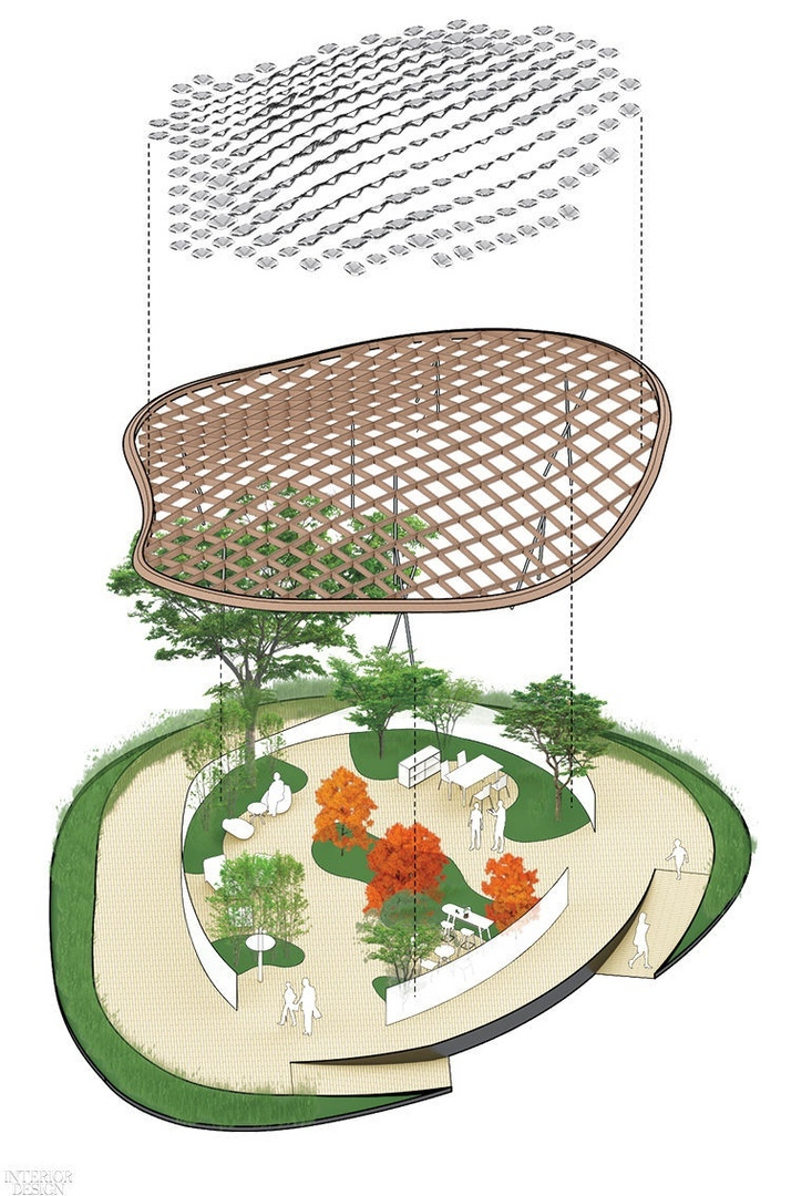 MAD Architects Conjures «Living Garden» Pavilion With the Help of Solar Energy
