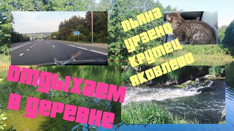 Поездка в деревню Яковлево Крутец Бутурлино Река Пьяна Отдых не в городе