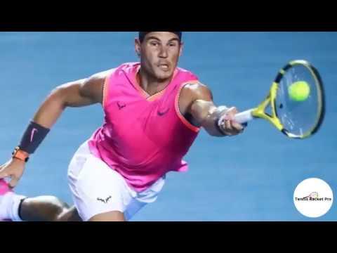 Rafael Nadal Racquet 2019 –Babolat 2019 Pure Aero Tennis Racquet Specs