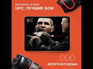 Бои UFC на Wink бесплатно для тех, кто дома