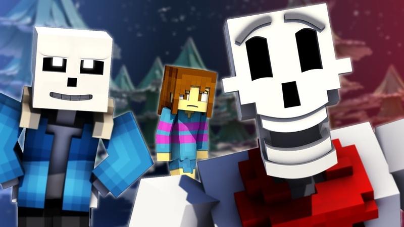To The Bone | Minecraft Undertale Music Video [PACIFIST]