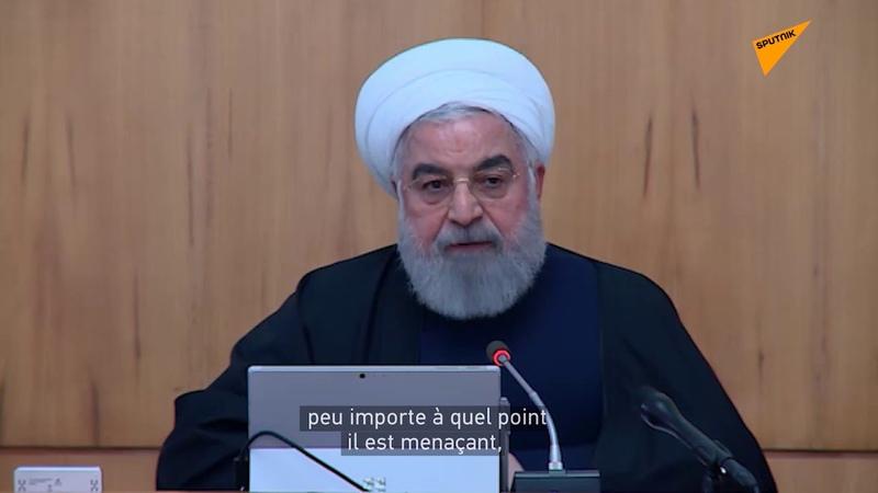 Hassan Rohani promet une réponse ferme si les États Unis commettent un crime
