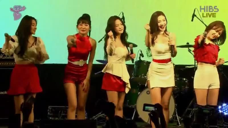 190515 Red Velvet HIBS Live Hongik Campus Fest