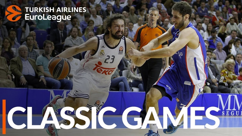 Classic Games, 2015 PO G2 Real Madrid-Anadolu Efes Istanbul