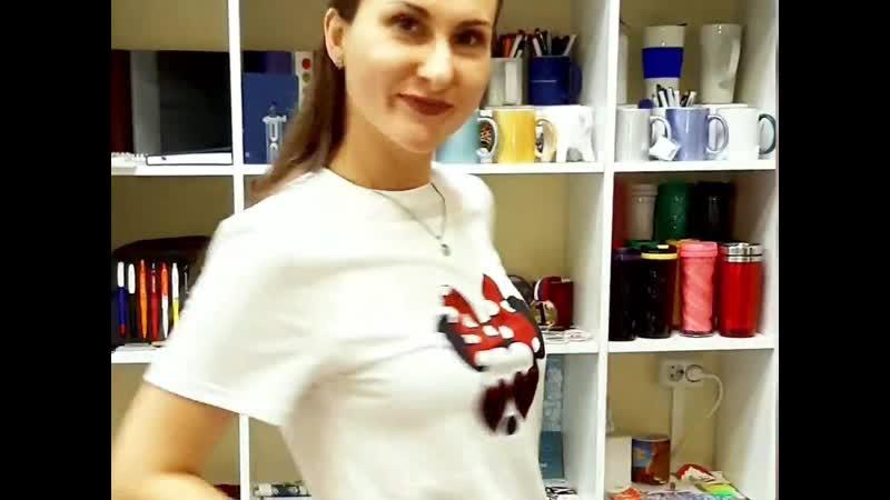 👕 Прямая печать на футболках, весь процесс!