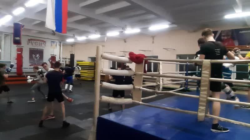 Тренировка секции Боевое самбо