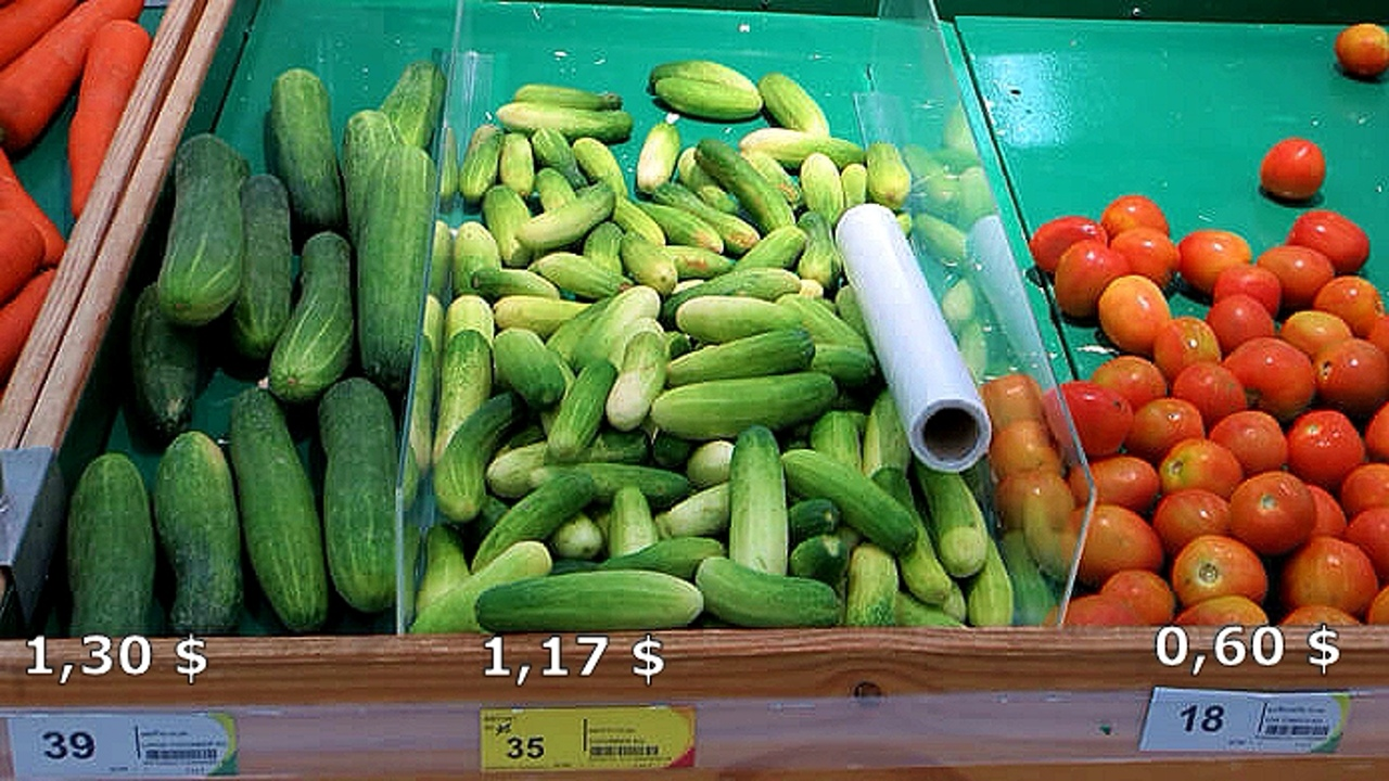 Цены на продукты и еду в Таиланде.  O5LVWelb0BQ