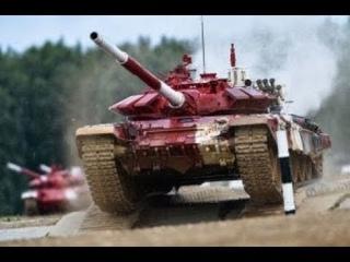 Сериал Танковый биатлон. 1 Сезон. 1 Серия.  Прикладные состязания между танковыми экипажами.