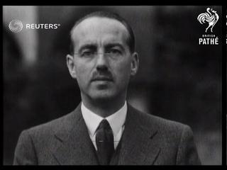 Belgian Premier's 'show-down' succeeds. Monsieur van Zeeland has sweeping election victory...(1937)