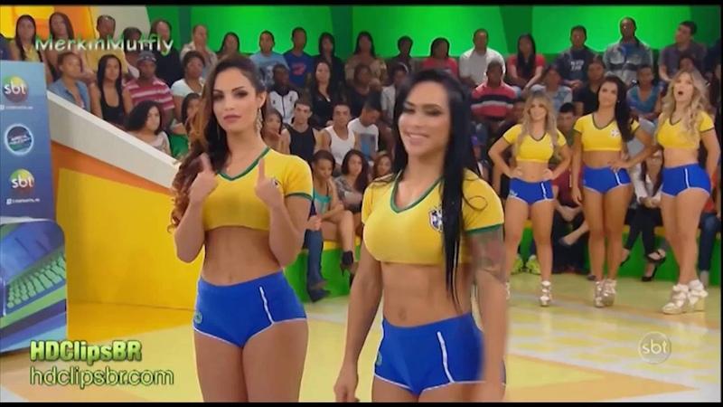 аппетитные бразильянки играют в твистер