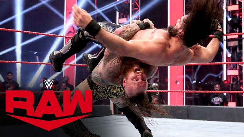 The «Kingslayer» Aleister Black vs. Seth Rollins Raw, June 1, 2020