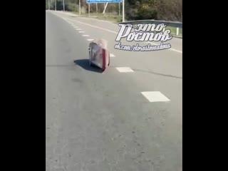 Неведомая модель транспортного средства на трассе -  - Это Ростов-на-Дону!