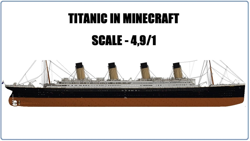 TITANIC IN MINECRAFT MAP OVERVIEW