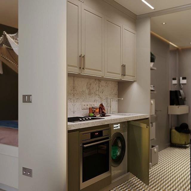 5 маленьких кухонь, в которых задействовано все полезное пространство, изображение №5