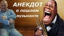 Анекдот про пошлого музыканта Дай Джазу Поздравление от Усача из Самары для Никиты Н.