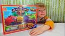 Веселые Паровозики из Чаггингтона строим железную дорогу распаковка игрушек CHUGGINGTON PLAY TOYS🏘