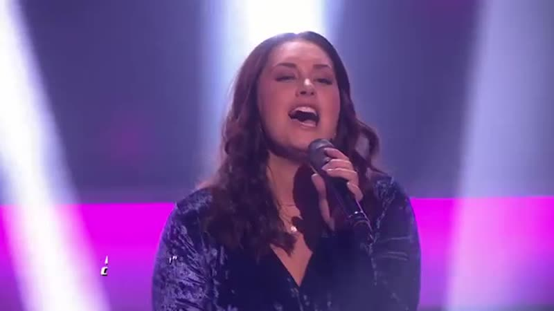 Шоу Голос Норвегия 2019 Анникен с песней Кто любит тебя Anniken Kolstad Skoglund Who's Lovin' You