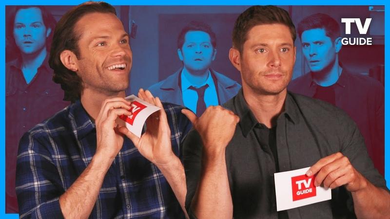 Supernatural Cast Plays 'Most Likely To'   Jared Padalecki, Jensen Ackles, Misha Collins
