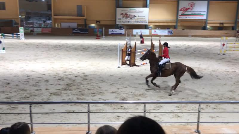 Афанасьева Карина и Грация 110 см