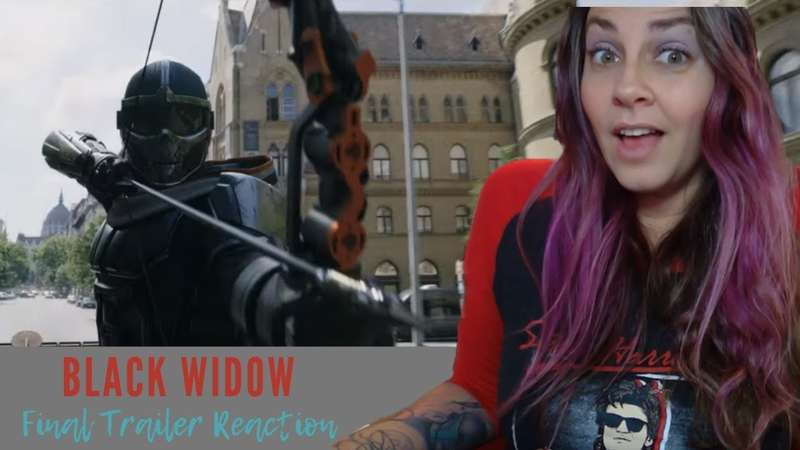Marvel's Black Widow Final Trailer REACTION