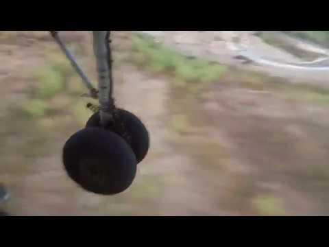 Посадка Ан 26 в Хмеймиме