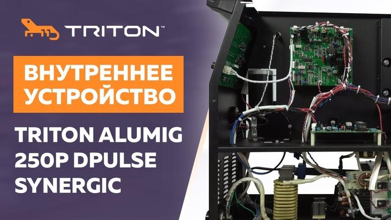 Внутреннее устройство TRITON ALUMIG 250P DPULSE SYNERGIC