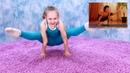 😨Варвара Гордеева VS йога😨 (гимнастка против йоги)
