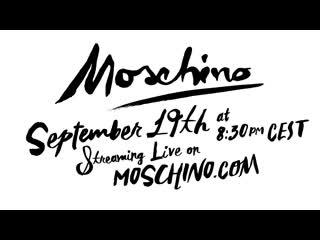Смотрим показ moschino ss 2020 в прямом эфире сегодня в 21:30