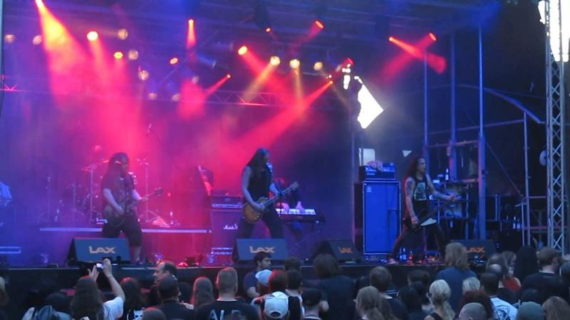 Poisonblack - Love Infernal *live* @ Castle Rock Festival, Mülheim an der Ruhr, 03.07.2015