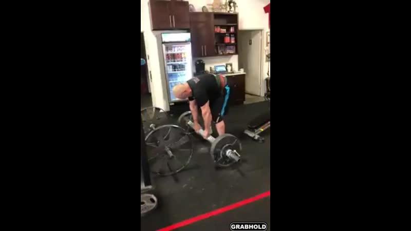 Odd Haugen Saxon bar lift - 116 kg.