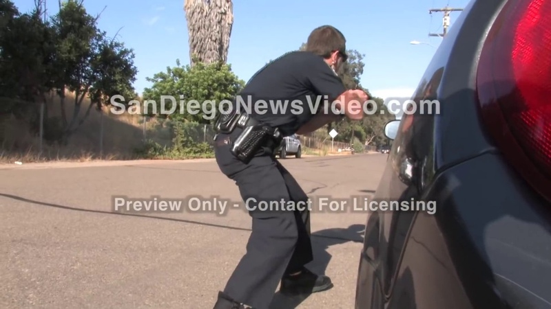 Stringer Video CAUGHT ON TAPE Officer Shot In The Head During Shootout El Cajon