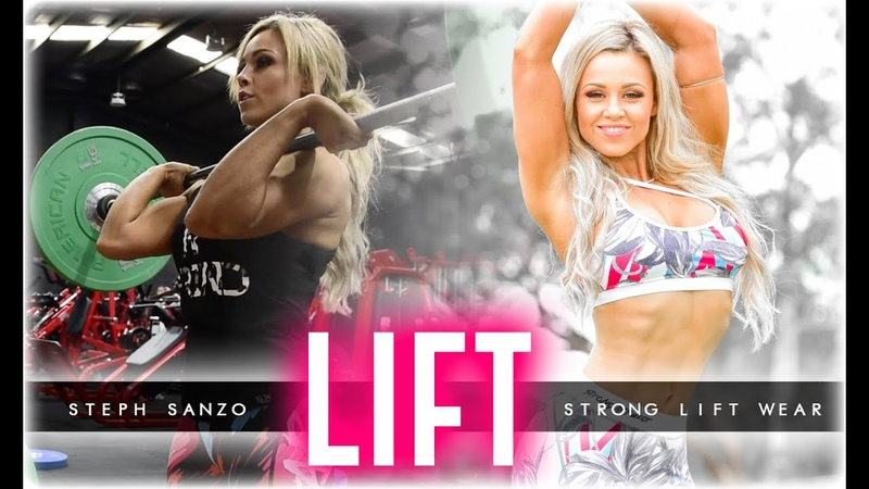 Women who LIFT Steph Sanzo trains with Strong Liftwear D
