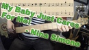 Nina Simone - My Baby Just Cares For Me [BASS COVER] - with notation and tabs