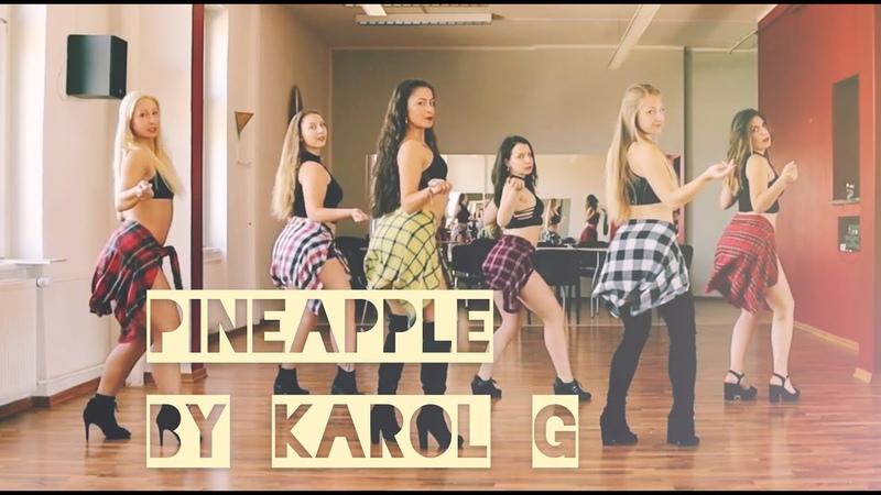 Pineapple by Karol G Sensual Latin Twerk Choreography