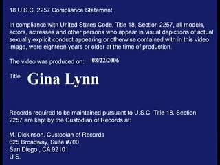 My First Sex Teacher - Mrs. Gina Lynn