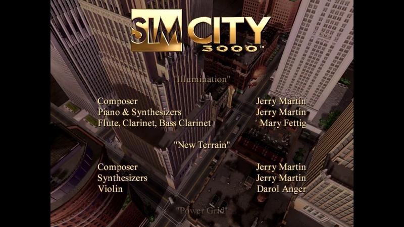 Simcity 3000: Holiday Theme Edition (Credits) (Windows)